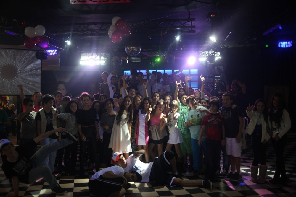 מועדון לבת מצווה בתל אביב